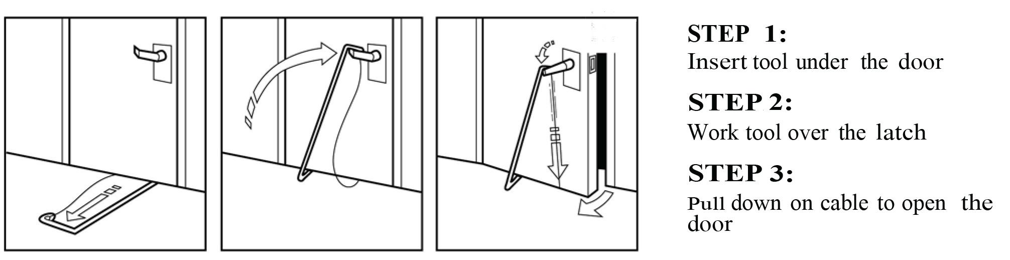 Under The Door Tool